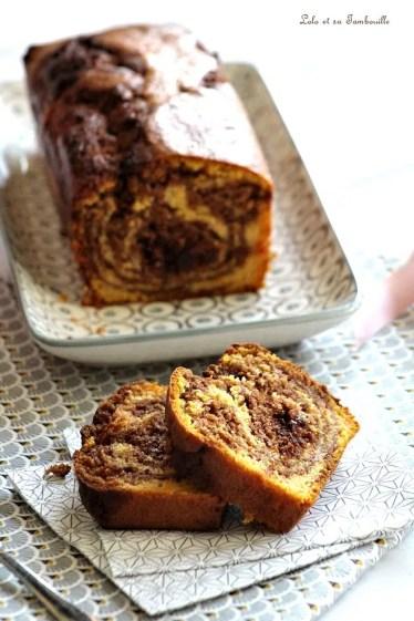 Cake courge & chocolat (1)