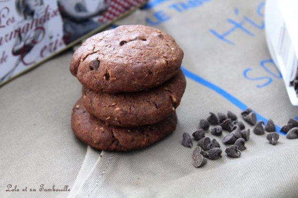 Cookies au chocolat & pépites