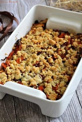 Crumble aux carottes (3)