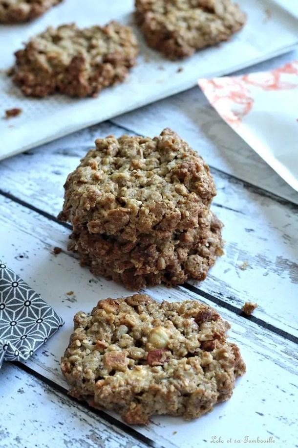 Biscuits au granola {ou muesli}