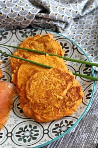 Blinis de patates douces (2)