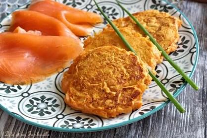 Blinis de patates douces (3)