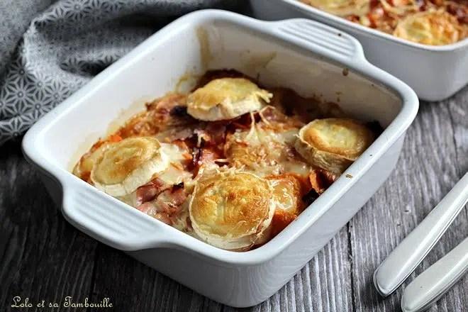 Gratin de patate douce