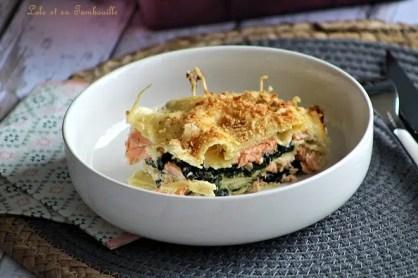 Lasagnes aux épinards & saumon (5)