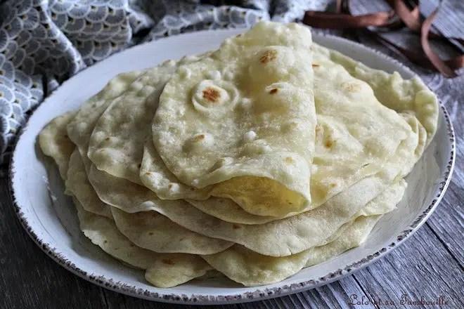 Pain pour Tortillas maison