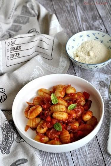 Gnocchis sauce tomates & coppa (3)