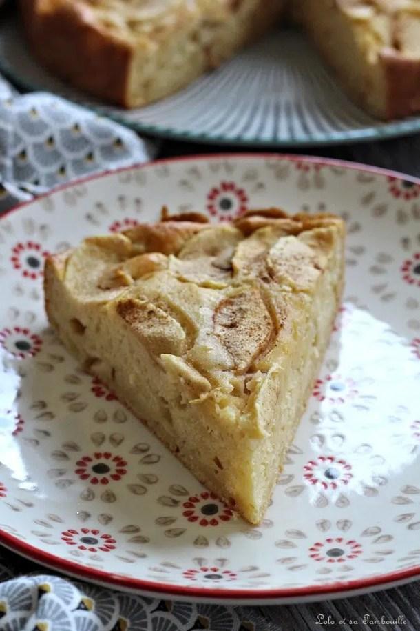 Moelleux aux pommes & mascarpone