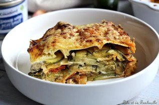 Lasagnes aux courgettes & brandade (6)