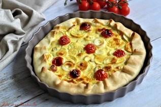 Tarte aux courgettes jaunes & thon (2)