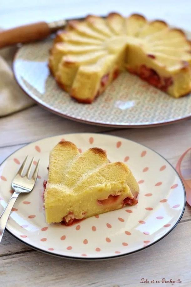 Far aux fraises & lait ribot