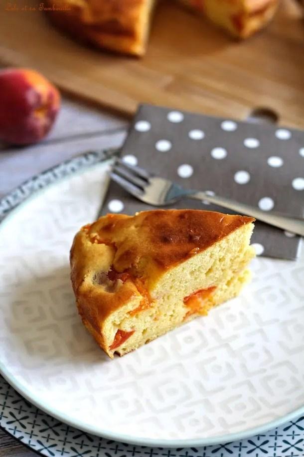 Gâteau à la ricotta & abricots