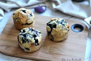 Muffins aux myrtilles (5)