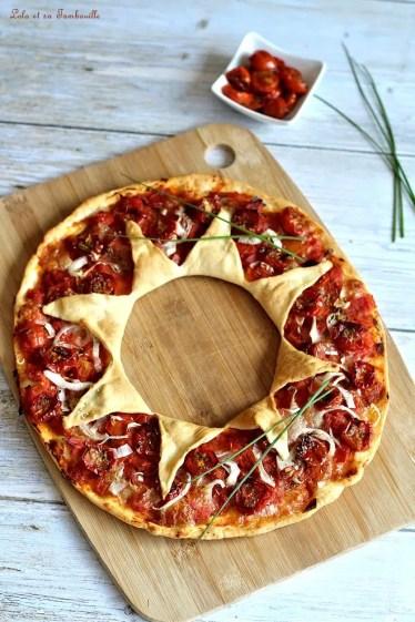 Pizza étoiles aux tomates (3)