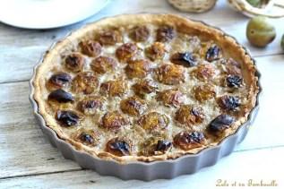 Tarte aux prunes & crème de noisettes (2)