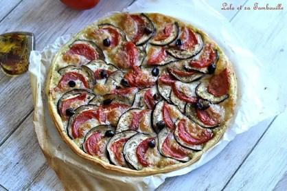 Tarte tomates & aubergines (4)