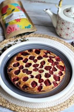 Moelleux aux fraises (2)