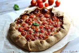 Tarte rustique aux tomates cerises (1)