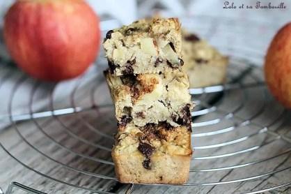 Cakes aux flocons d'avoine & pommes (6)