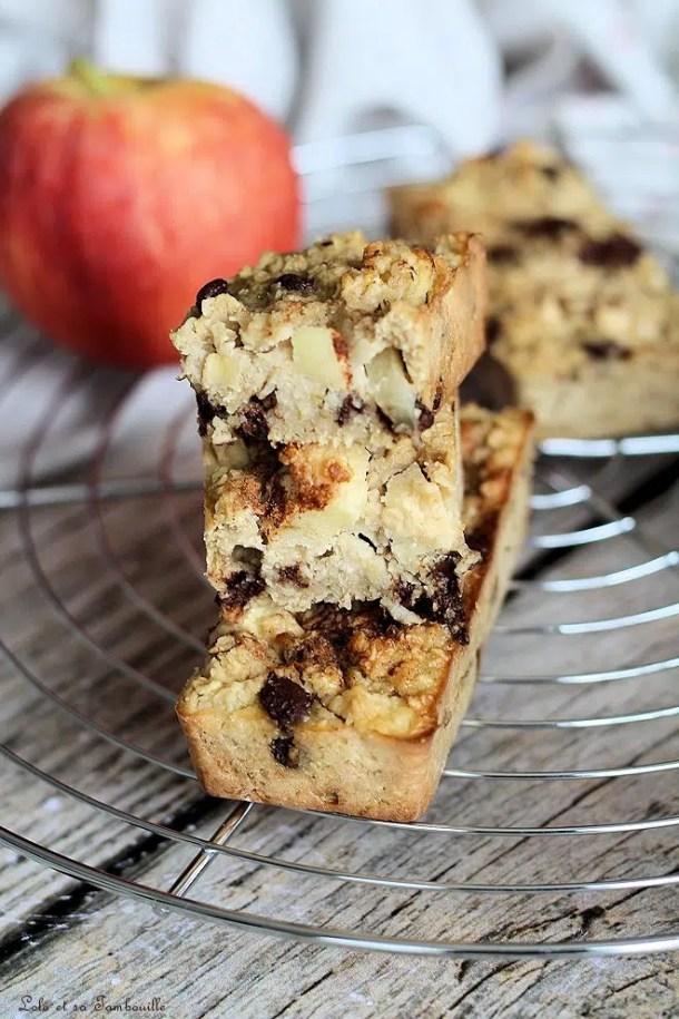 Cakes aux flocons d'avoine & pommes