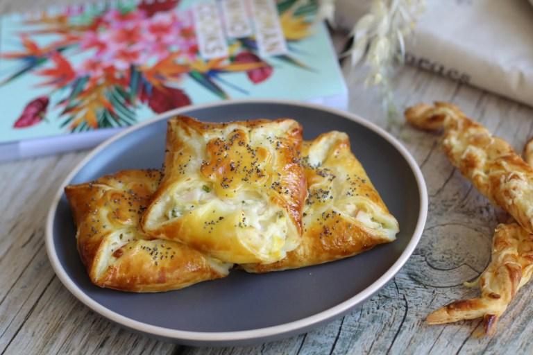 Feuilletés jambon fromage