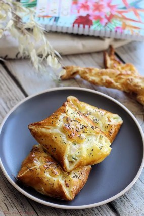 Feuillets jambon & fromage (5)