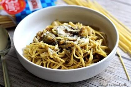 Spgaghettis au pesto & légumes (6)