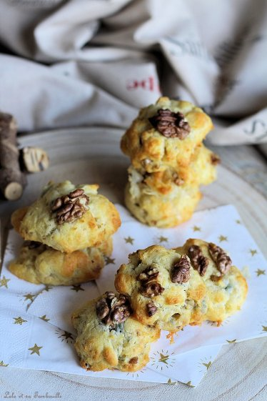 Cookies au gorgonzola & noix (3)