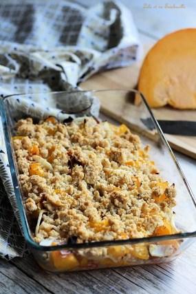 Crumble potimarron & chorizo (2)
