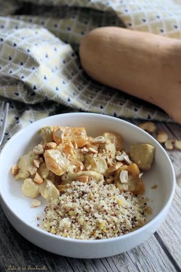 Curry de poulet & butternut au lait de coco (4)