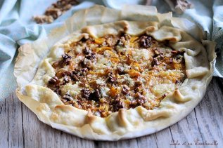 Tarte au potiron & gorgonzola (5)