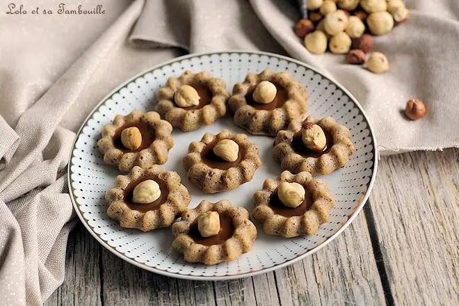 Bouchées noisettes caramel