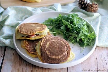 Pancakes à la butternut façon croque monsieur (4)