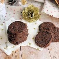 Biscuits chocolat & fleur de sel {pierre Hermé]