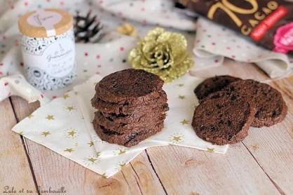 Sablés au chocolat & fleur de sel (6)