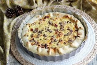 Tarte au chorizo & butternut (2)