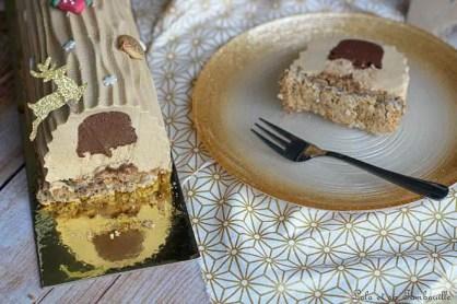 Bûche chocolat & praliné (6)
