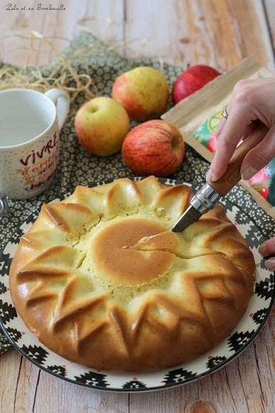 Gâteau aux pommes & mascarpone (5)