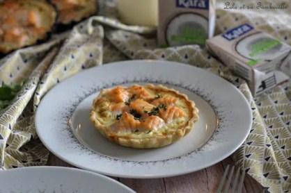 Tartelettes saumon & crème de coco (6)