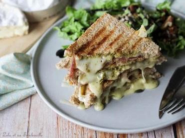 Croques Monsieur au camembert (1)