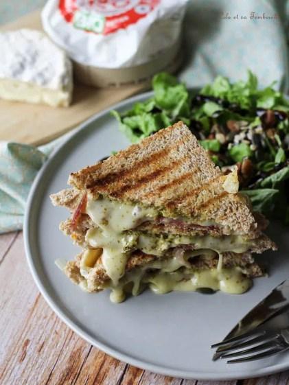 Croques Monsieur au camembert (5)