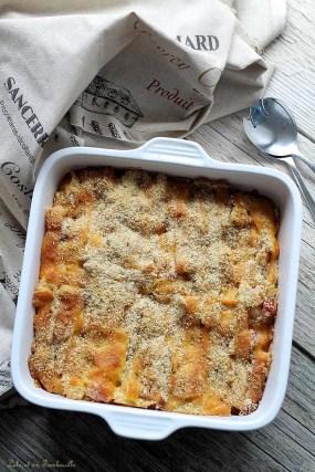 Gratin de macaronis jambon & cheddar (2)