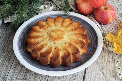 Gâteau aux pommes allégé (2)