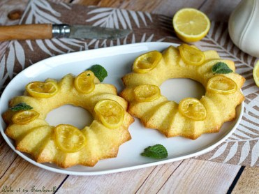 Moelleux au citron façon baba au rhum (2)