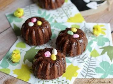 Moelleux nids de Pâques au chocolat (1)