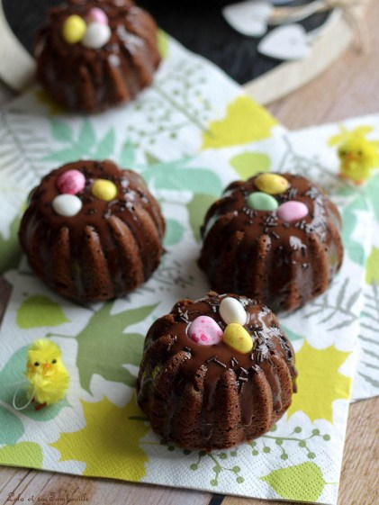 Moelleux nids de Pâques au chocolat (4)