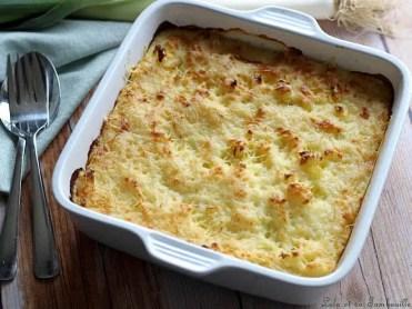 Parmentier de poireaux & jambon (3)