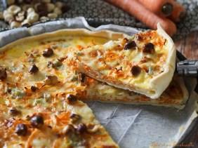 Tarte au carottes & gorgonzola (5)