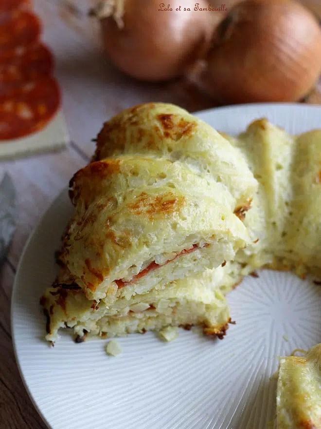 Gâteau de pommes de terre & chorizo