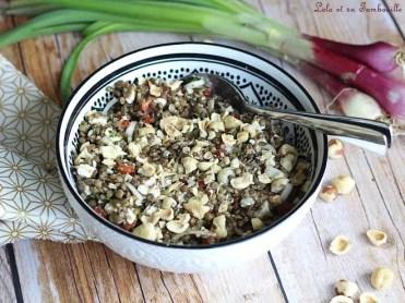 Salade de lentilles au chorizo & feta (2)