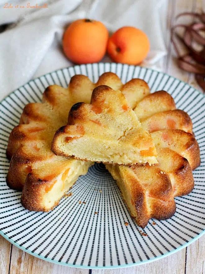 abricots, gâteau